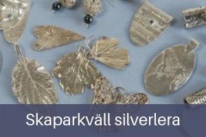 Skaparkväll silverlera