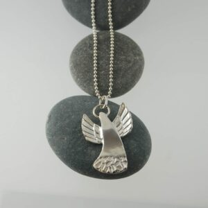 angel large silver