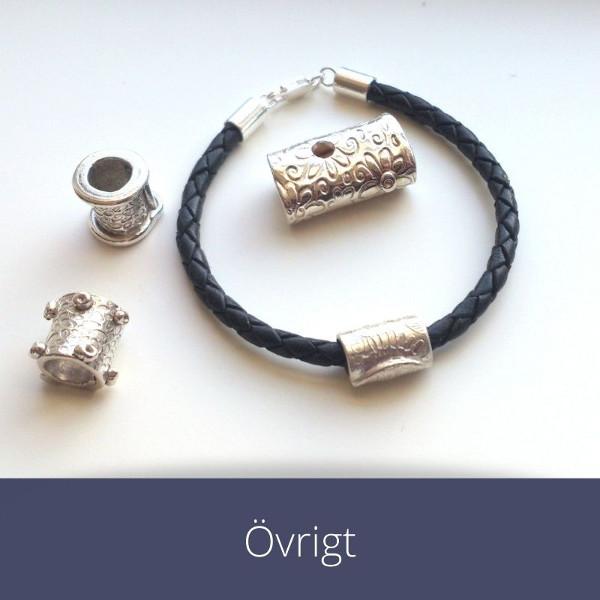 armband bokmärken i silver